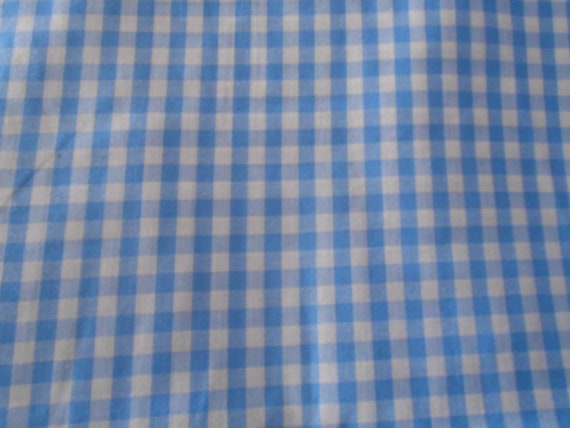 Blue gingham cotton print, wizard of oz-Dorothy