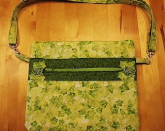 Green Ivy Purse/Clutch