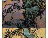 Engraving Landscape Poster 1