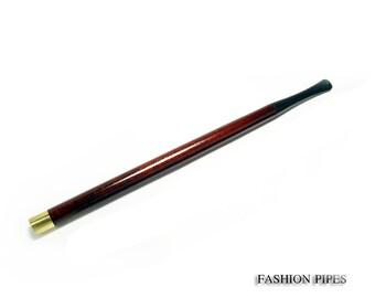 BESTSELLER Audrey Hepburn Fashion Long Cigarette Holder. Carved SUPER LONG 8.7'' /  220 mm Fits Regular Cigarettes. The Best Price Offer