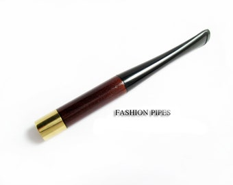 Audrey Hepburn Fashion Short Cigarette Holder. Hand Carved 3.9 '' / 100 mm Fits Regular Cigarettes.  The Best Price Offer