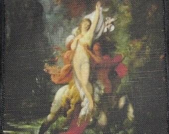 Printed Sew On Patch - AUTUMN DETAIL - Gustav Moreau 1826-1898