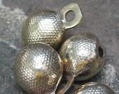 """Brass """"lychee"""" bell"""