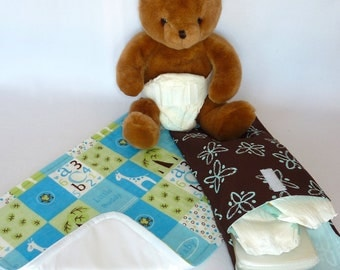 Little Buddy Diaper Changing Pouch Set includes: Changing Pad & Pouch