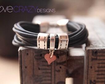 Womens leather bracelet, women's bracelet