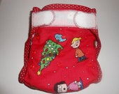 Charlie Brown Christmas Diaper Cover