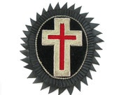 LARGE Vintage Knights Templar Badge Piece