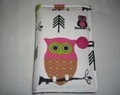 Kindle HD 6 - Kindle Case, Kindle Voyage Cover, Nook Glowlight, Kobo Aura H2O, Nexus 7 Google, Kindle Cover -Premier Prints- Hooty Owl Print