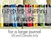 Expedited Shipping for a Large Journal by The Orange Windmill