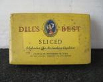 Vintage Dill's Best Tobacco Tin