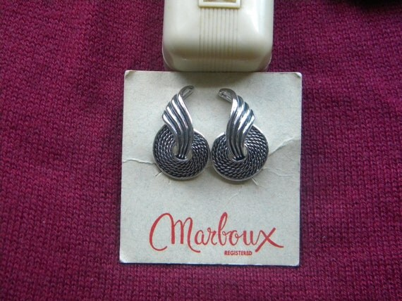 Marboux Boucher Clip Earrings