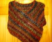 Cowl poncho shawl or a scarf