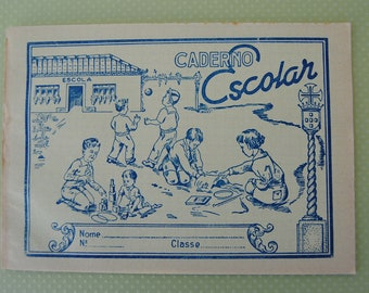 vintage - old SCHOOL NOTEBOOKS  (un-used)