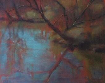 Original Pastel of River
