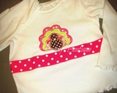 Turkey Ribbon Applique Shirt