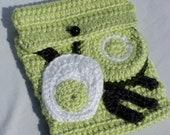 Green Eggs and Ham E-Reader Cozy - crochetbymegs