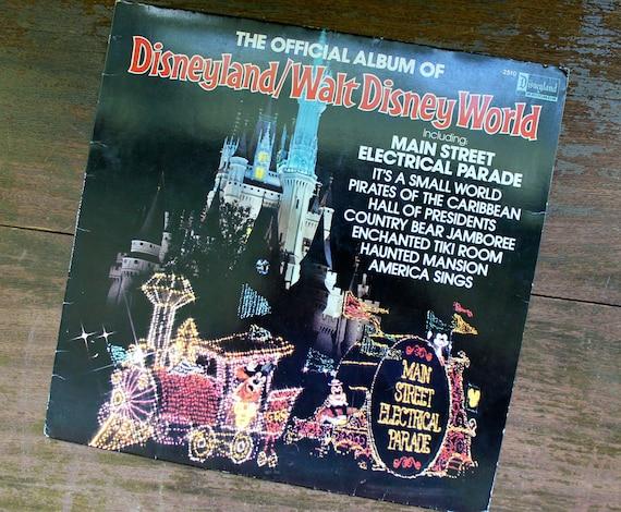 Disneyland Walt Disney World Vintage Record Album By Downstate