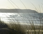 Beach Scene. View from the Sands. North Devon. Photographic Print.  A3 size. 420 x 297 mm's. Matt or Gloss.