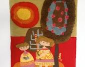 "RESERVED Evelyn Ackerman ""The Garden"" Tapestry"