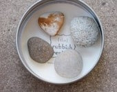 Sea Stone Magnets in Gift Tin - Free Shipping