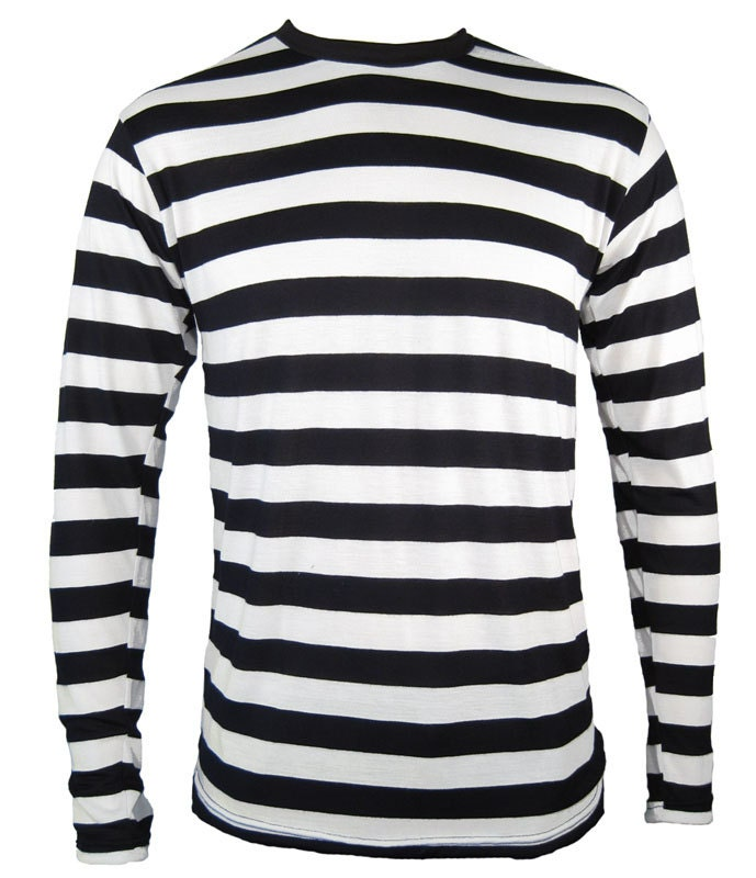 Child 39 s long sleeve black white striped shirt by skirtstar for Black and white striped long sleeve shirt women