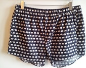 Printed Cotton Boxer Shorts- elephant print
