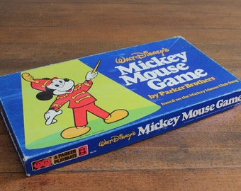 Walt Disney's Mickey Mouse Game - Complete (Parker Brothers, 1976)