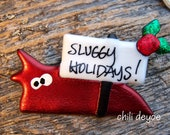 christmas slug pin