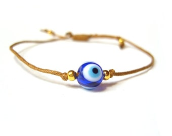 Nazar Bracelet, Turkish Evil Eye Bracelet, Gifts For Teenagers, String Bracelet UK