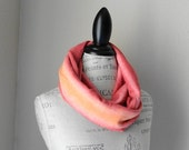 Infinity Scarf Sunset Sweater Knit
