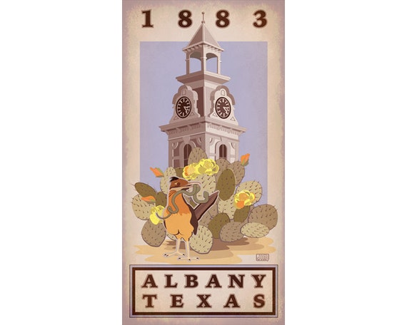 Albany Texas Poster