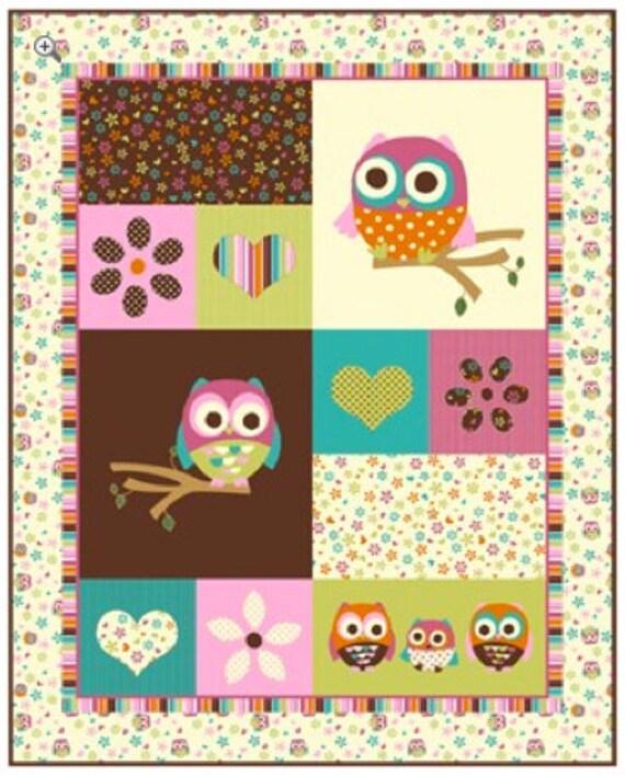 David Textiles - Hoot Owl Panel