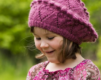 In Love with Bobbles Tam Knitting Pattern