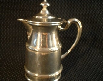 Apolo Silver Company Silver Plated Victorian Syrup Pitcher
