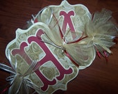 Custom Happy Anniversary Banner Golden Gold 50th 40th 25th Wedding Party Reception Decor Burgundy Personalized