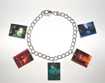 Percy Jackson Charm Bracelet,   Percy Jackson Bracelet,  Percy Jackson Jewelry, Percy Jackson Charms