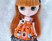 Cute Matryoshka Dress / For Middie Blythe,Odeco,Usagii