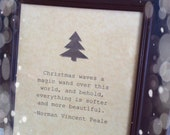 Christmas Quote Sign