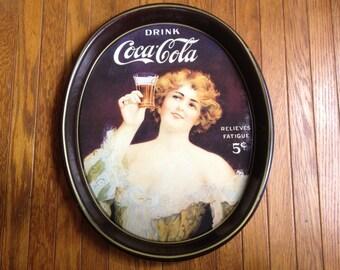 Vintage Coca Cola Tray.