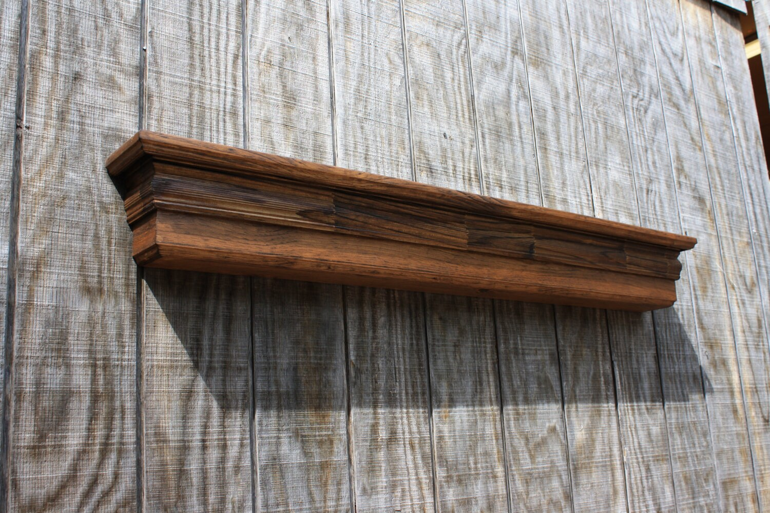 Decorative Wall Shelves Custom Built Wood By