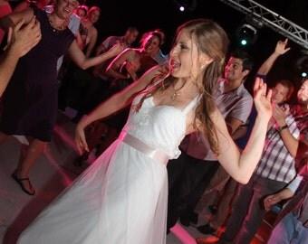 Fairy Wedding Dress Lace Wedding Dress Tulle Wedding Dress Princess Wedding Dress Bohemian Wedding Gown Paulastudio Wedding Dress