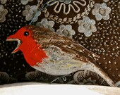 Singing Robin Christmas Decoration