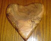 Handmade Maple Heart - Personalized Valentine's Day Gift