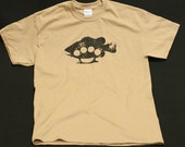 Bass Knuckles the ultimate fishing shirt  - -  Adult Size - Large