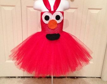 Elmo inspired tutu