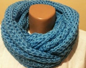 Infinity Scarf in Blue