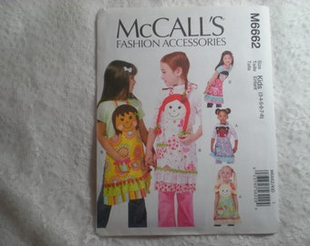 McCalls 6662 Kids Head Aprons