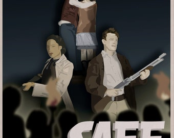 Safe - FIrefly Illustrated Poster