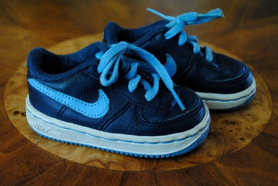 Nike Baby Force 1 Navy Blue Shoes size 4