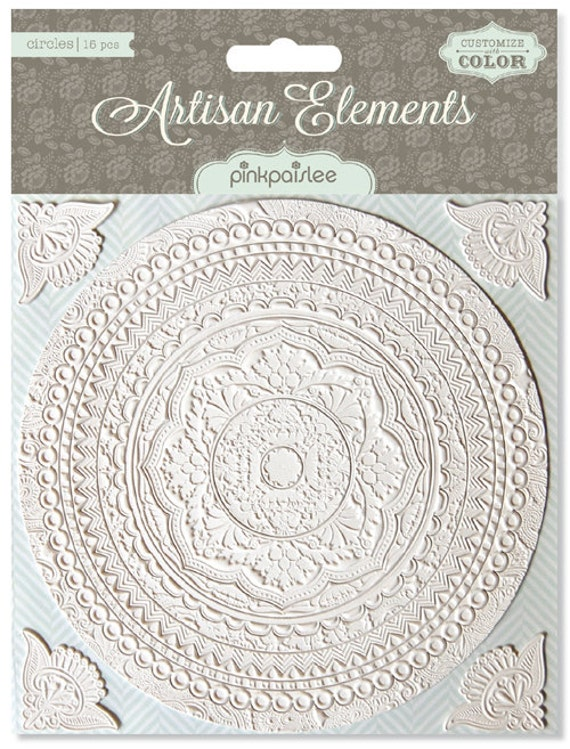 Pink Paislee ARTISAN Elements CIRCLES - just released cha 2012